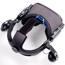Oculus Quest & HTC VIVE VR 헬멧 헤드 밴드 헤드 스트랩 벨트 커넥터 액세서리 용 조절 식 연결 피팅