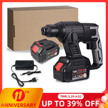 Power-Drill-Tool Battery Rotary-Hammer Impact Rechargeable 18v Makita Brushless Multifunction