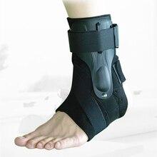 1PC kostki wsparcie pasek Brace bandaż stóp straż Protector regulowany zwichniętą kostkę orteza stabilizator podeszwy Fasciitis Wrap
