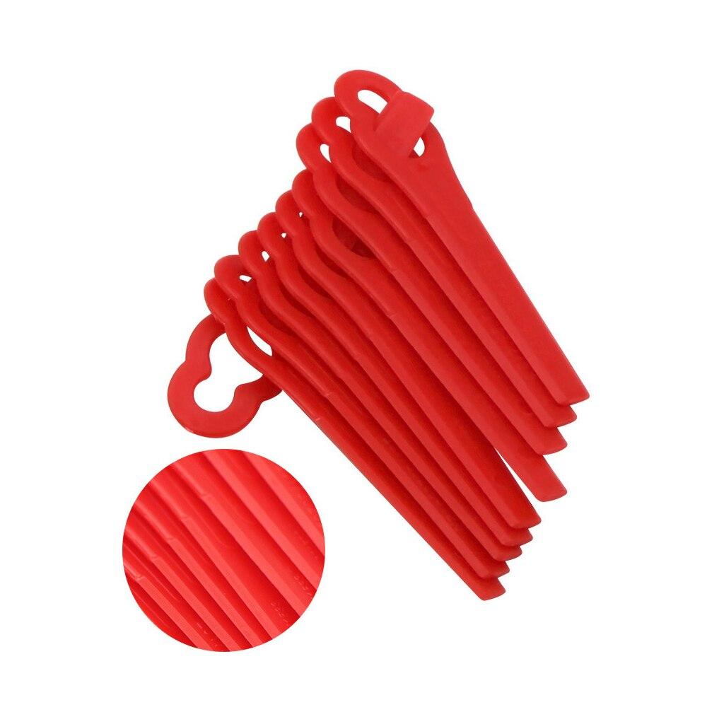 50Pcs Set Plastic Cutting Blades For BOSCH ART 23 ACCUTRIM 18V Lawnmower NEW