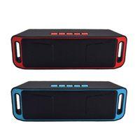 SC208 Wireless Car Bluetooth Speaker Outdoor Mini Dual Subwoofer Stereo Speaker