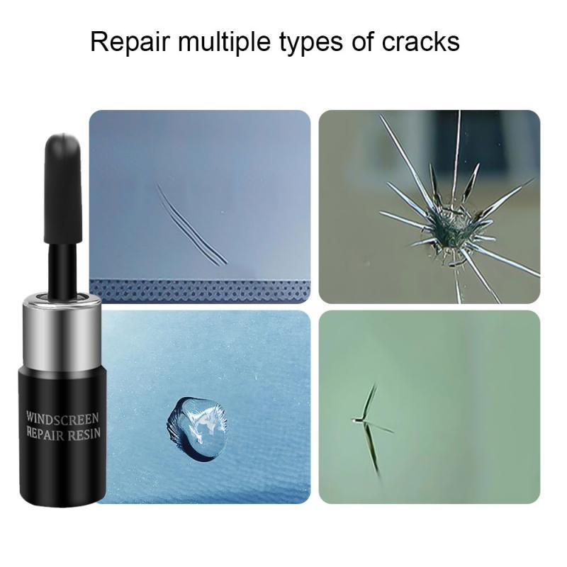 Car Windshield Repair Fluid Repair Kit Cracked Glass Repair Kit Windshield Kits DIY Cars Window Tools Glass Scratch