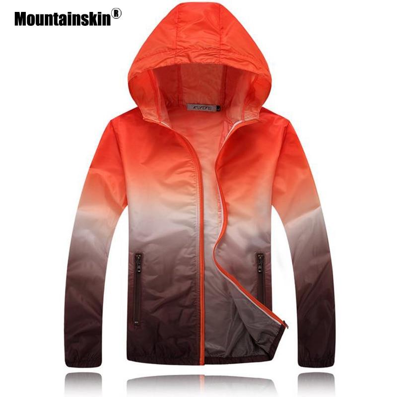 Mountainskin Ultra-Light Skin Jackets Men Coats Thin Spring Quick Dry Jacket Mens Windbreaker Outerwear Women Coats EDA200