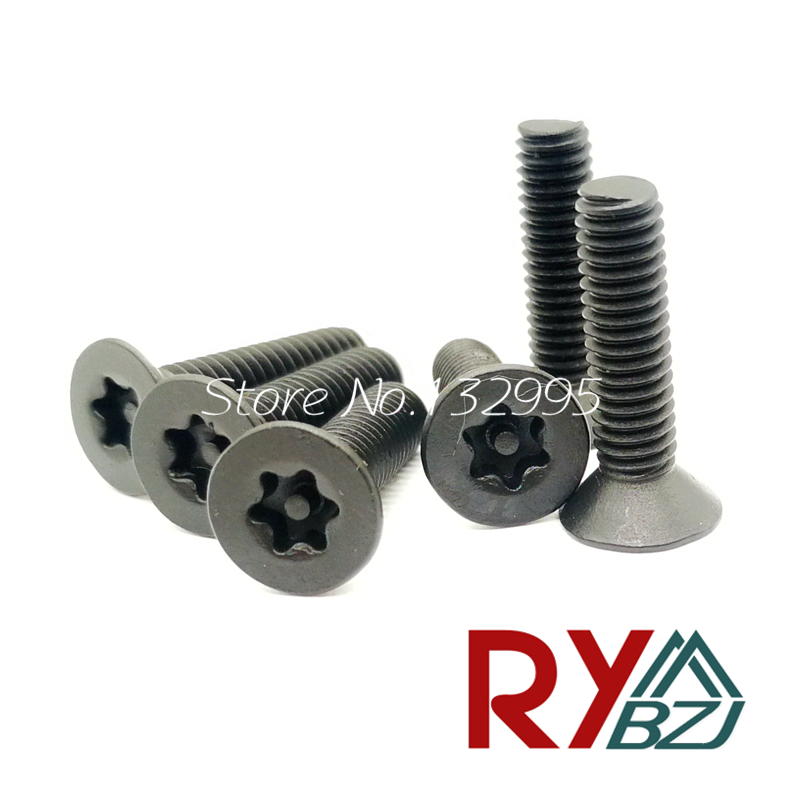 Security Screw M3 M4 M5 M6 M8 A2 Stainless Steel Torx Button Head Tamper Proof Security Screw Screws 35mm M6 10PCS