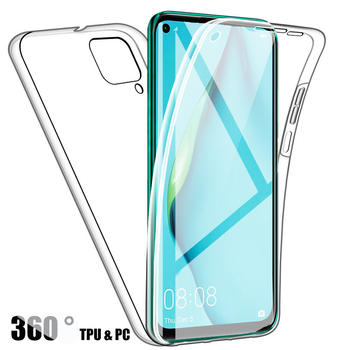 Double Silicone Case For Samsung Galaxy S20 Ultra S10 Plus S9 S8 A51 A71 A10 A20 A30 A40 Full Body 360 Gel Front Back TPU Cover image