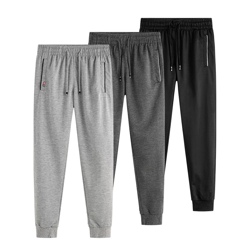 Plus Size M-6XL Sweatpants Men 2019 New Joggers Fitness Workout Trousers Male Elastic Cotton Streetwear Hip Hop Casual Pants