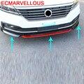 Стикер стиль бампер модификация протектор Parachoques автомобильные аксессуары Стайлинг молдинги 15 16 17 для Volkswagen Lavida