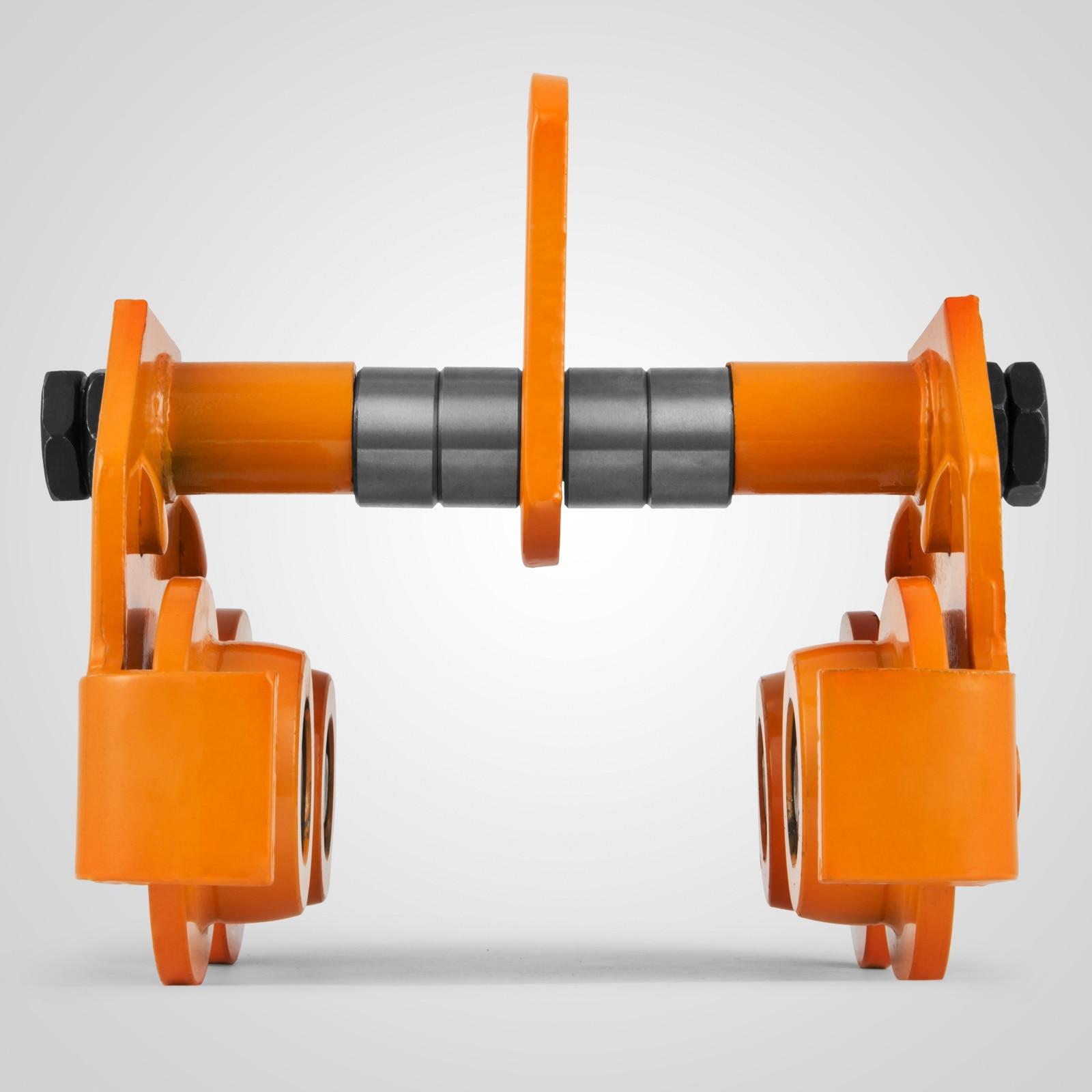 VEVOR толкающая тележка 1 тонна толкаемая регулируемая для I Beam треков прочная стальная конструкция двухколесная конструкция балочная тележк