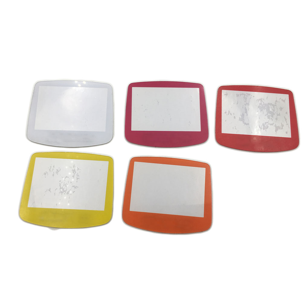 Colorful  For GBA System Replacement Protective Plastic Screen Lens Protector