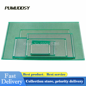 1pcs 9*15 cm Single Side PCB Prototype Universal Experiment Printed Circuit Board Epoxy Glass Fiber Green 9X15cm