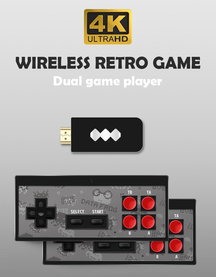Mini 4K Video Game Console