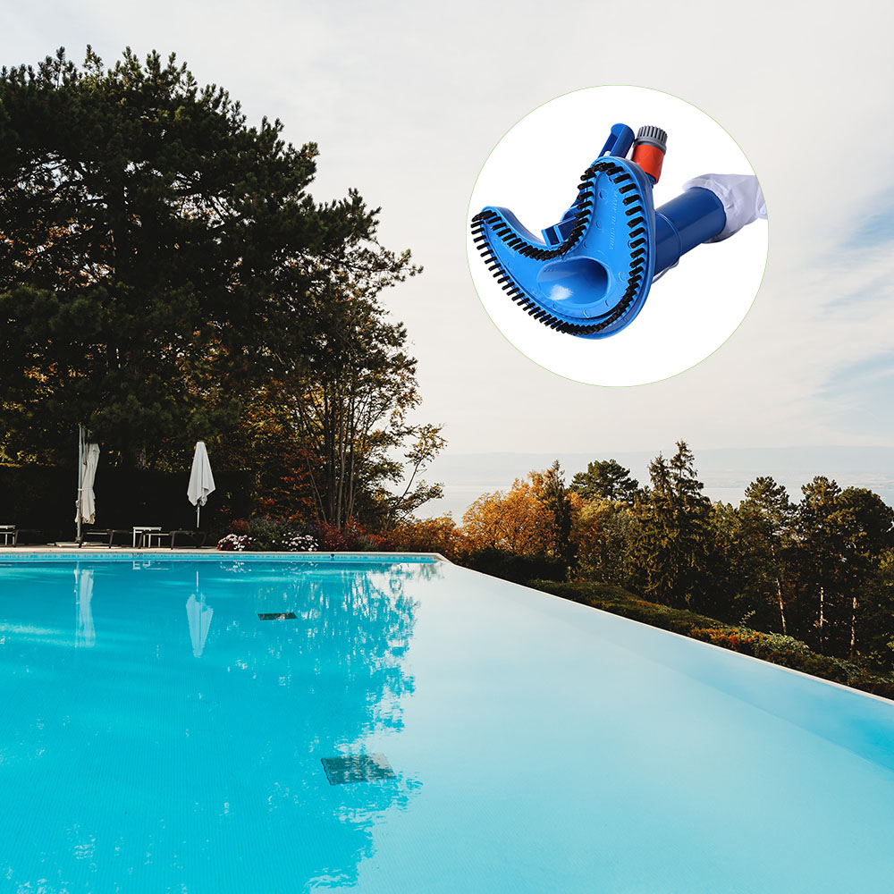 Swimming Pool Vacuum Cleaner Durable Mini Jet Brush Easy To Clean Leaves Other Debris For Swimming Pool Spa Pond Tub Accessories