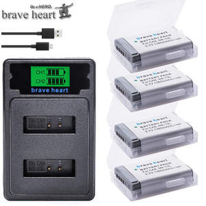 LCD Mark-Ii Battery Dual-Charger Canon NB-13L 4x for G7x/G9x/G5x/.. TYPE-C