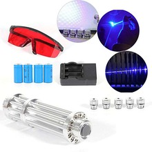 High Power 1.6.w Blue Laser Pointers 450nm Lazer Flashlight Burning Match/Burn light cigars/candle/ Hunting Laser high powered burning 1000000mw blue laser 450nm 10000mw red 532nm 10000mw green 3 in 1 focusable laser pointers burn cigarettes