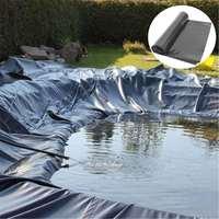 Revestimiento para estanque de peces de goma de HDPE de 4x 4m/5x 5m/7x7m, resistente al agua para paisajismo, membrana Impermeable para piscinas, revestimientos para estanque