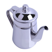 1.6 L Stainless Steel Water Pitcher, Tea Coffee Kettle Gooseneck Thin Spout for Pour Over Coffee(China)