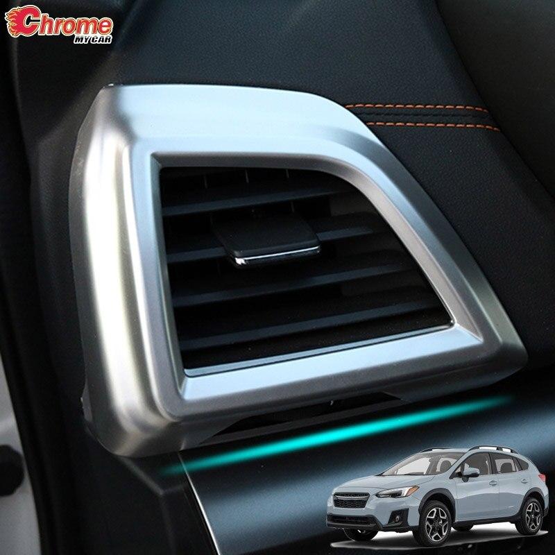 Interior Air Condition Vent Outlet Cover Trim For Subaru XV Crosstrek 2018 2019