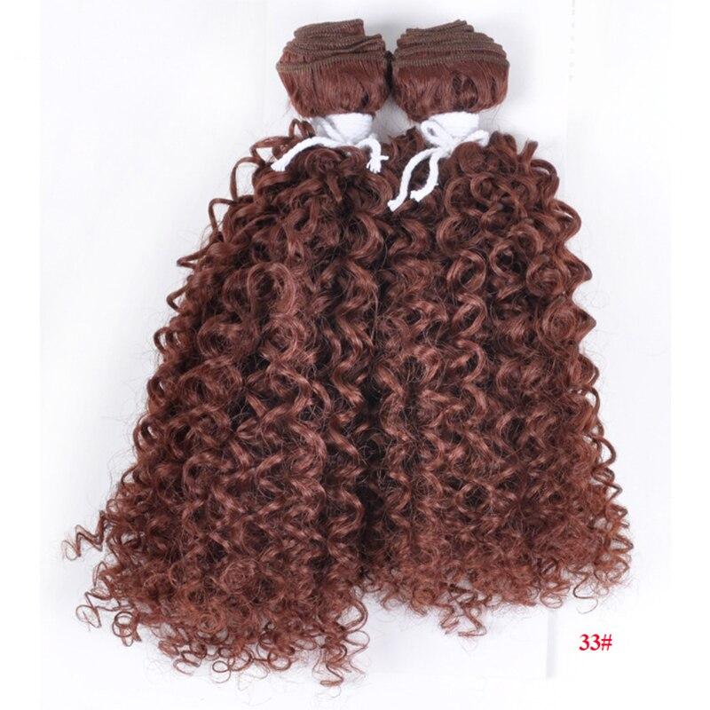 WADOI kısa kabarık kıvırcık sentetik yapay peruk bayanlar için uygun kadın siyah altın kırmızı gri yumuşak peruk hassas 10 inç