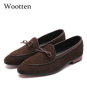 Image 1 - 37 48 حذاء رجالي الأخفاف تنفس العلامة التجارية الكلاسيكية زائد حجم الأزياء مريحة أنيقة الفاخرة حذاء كاجوال الرجال #7719