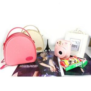 Image 5 - بو الجلود تحمل حقيبة للتخزين الحقيبة ل بولارويد Fujifilm Instax Mini 9 8 8 + 7S 25 50S 70 90 كاميرا عالمية واقية حقيبة