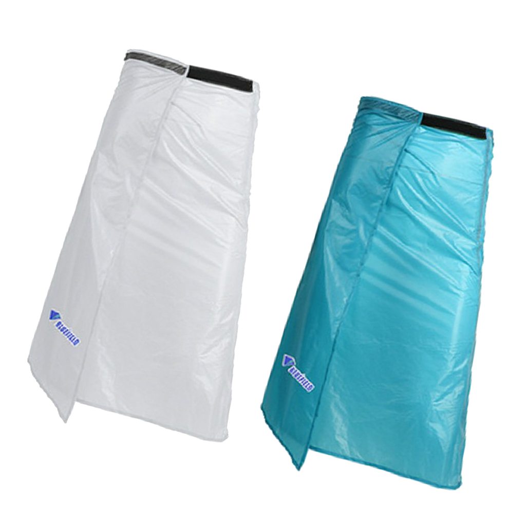 Outdoor Camping Rain Poncho Waterproof Apron Pants Skirt with Storage Bag|Hiking Jackets| |  -