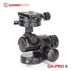 Image 4 - Sunwayfoto GH PRO Ii Voor Sony Nikon Canon Dslr Camera Panorama Head Arca Zwitserse Statief Gear Hoofd Panoramisch Hoofd