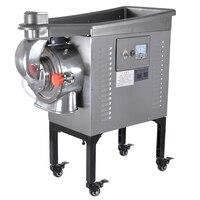 DF-50 10-60 kg/h 2500 w/3200 w máquina de moedura automática elétrica de resfriamento de água de alimentação contínua erva ervas moedor de medicina