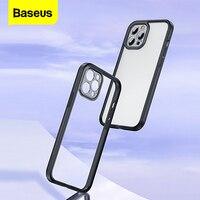 Baseus Transparent Telefon Fall Für iPhone 12 Pro Max 12 Mini Coque Klar Weichen TPU Rückseitige Abdeckung Für iPhone 12Pro max Fundas Shell