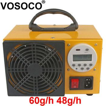 Generator ozonu 60 g h Generator ozonu ozonizator oczyszczacz powietrza sterylizacja oczyszczacz leczenie zegar cyfrowy usuń zapach 48 g h tanie i dobre opinie VOSOCO 50m³ h CN (pochodzenie) 100 w 220 v 60g 48g 41-60 ㎡ Przenośne 96 20 Ac Źródło 98 00 ≤35dB 15000000 sztuk m³