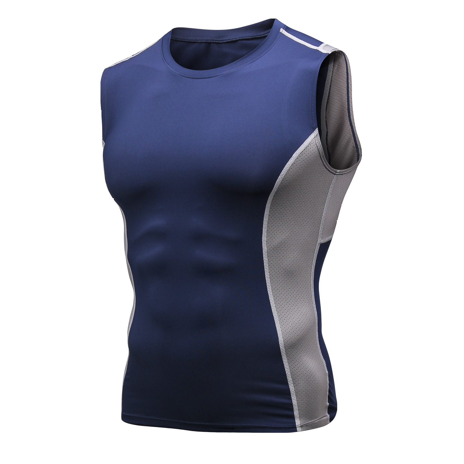Womens Sports Tank Tops Racerback Yoga Baseball Gym Slimming Workout Vests Solid