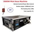 2000 Вт машина для сценического тумана с дистанционным управлением  машина для тумана с DMX управлением  комплект летных чехлов 3л  машина для д...