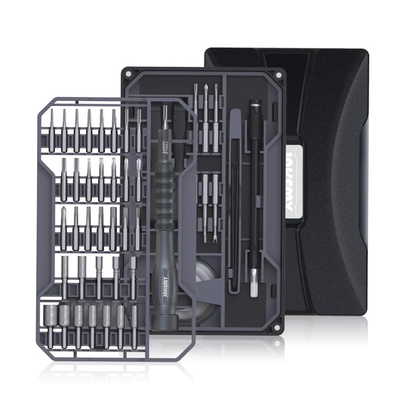 Tools : 73 In 1 Multifunctional Screwdriver Repair Tool Set with S2 Magnetic Driver Bits Multi-layer Design for Home DIY Improvement