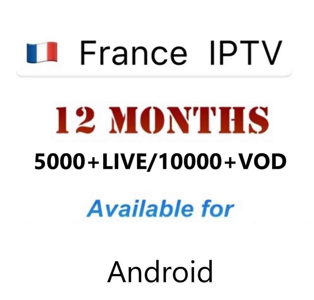 IPTV Europa IPTV Francia Reino Unido Alemania España Italia IPTV canales para Smart TV Android Set Top Box Live + VOD canales