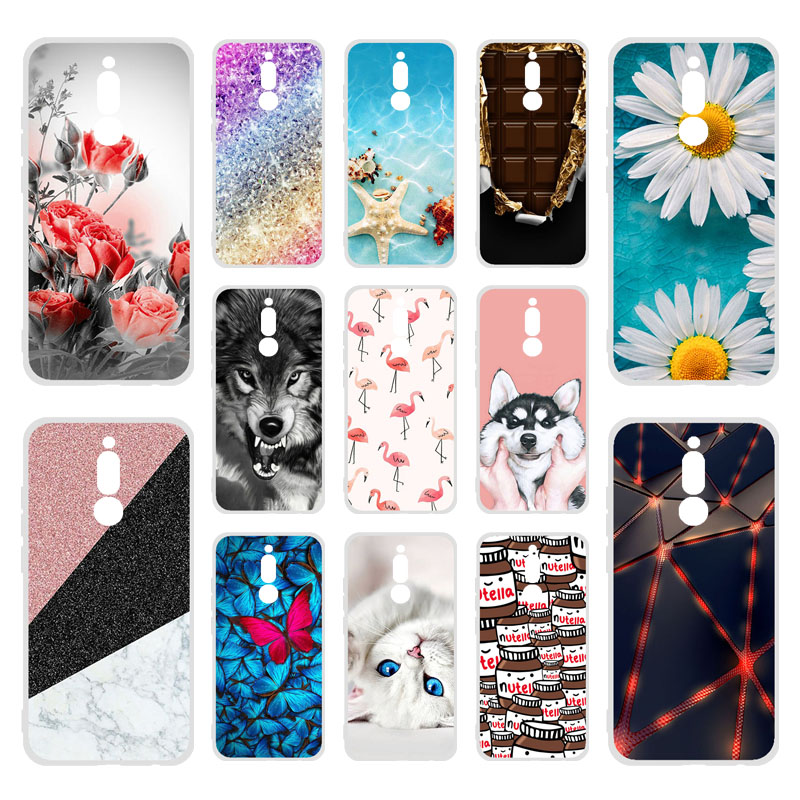 <font><b>Silicone</b></font> <font><b>Case</b></font> For <font><b>Xiaomi</b></font> Redmi <font><b>8</b></font> <font><b>Cases</b></font> TPU DIY Painted Coque Xiomi Redmi K30 Note <font><b>8</b></font> Pro 7 8T 8A <font><b>Mi</b></font> 9T A3 9 <font><b>Lite</b></font> SE Note 10 Cover image