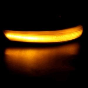 Image 4 - 12V 깜박이는 LED 자동차 방향 지시등 리어 뷰 미러 램프 깜빡이 포드 포커스 Mk2 Mk3 Mondeo Mk4 용 동적 자동차 액세서리