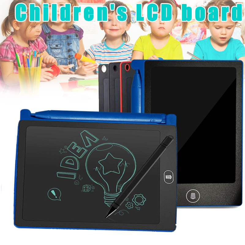 6.5 Inch Electronic Drawing Board Graffiti Board Drawing Board Sketch Board Black