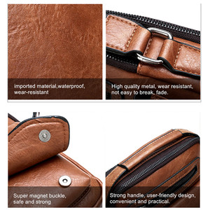 Image 5 - Celinv Koilm Männer Tasche Berühmte Designer Männer Schulter Messenger Taschen Split Leder Crossbody tasche Männer Mode Business Hohe Qualität