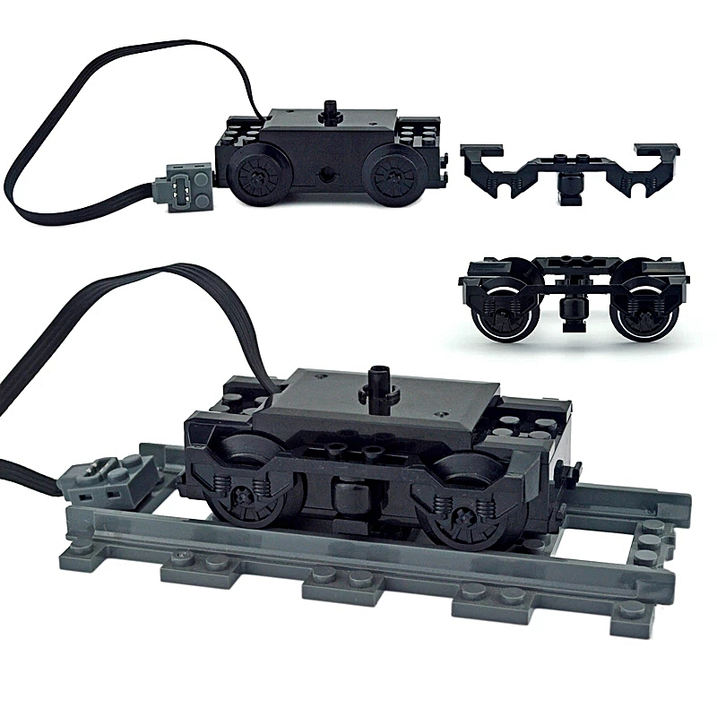Train Accessories Technical parts Fence Motor multi power functions tool train 91994 74784 2871 PF model sets building blocks