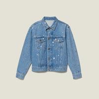 Women Jacket 2019 Autumn and Winter New Lapel Rivet Casual Washed Denim Jacket