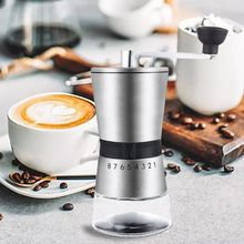 Coffee-Grinder Manual Hand-Crank Conical Too Ceramic Grinding Stainless-Steel Durable