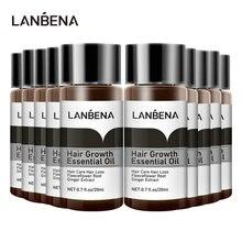 LANBENA 10PCS Hair Growth Essence Hair Care Treatment For Men And Women Hair Los