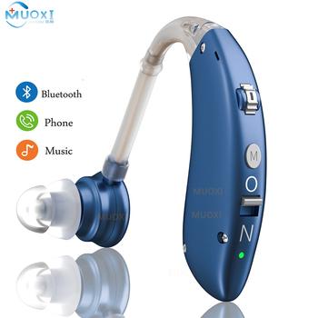 Mini akumulator aparaty słuchowe cyfrowe aparaty słuchowe BTE regulowany dźwięk wzmacniacz dźwięku przenośne głuchy osoby w podeszłym wieku aparat słuchowy tanie i dobre opinie MAGIC DRAGON audifonos Siemens hearing aids digital hearing aids sound amplifier rechargeable hearing aids hearing device