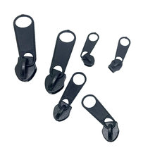 6 Pieces Fix Zip Puller/Zipper Pull Sliders Head Repair Instant Kit Removable Rescue Replacement