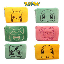 Pokemon Pikachu Little Fire Dragon Kaby Beast Cartoon Anime Character Pencil Case Storage Bag Clutch Bag Wallet Birthday Gifts