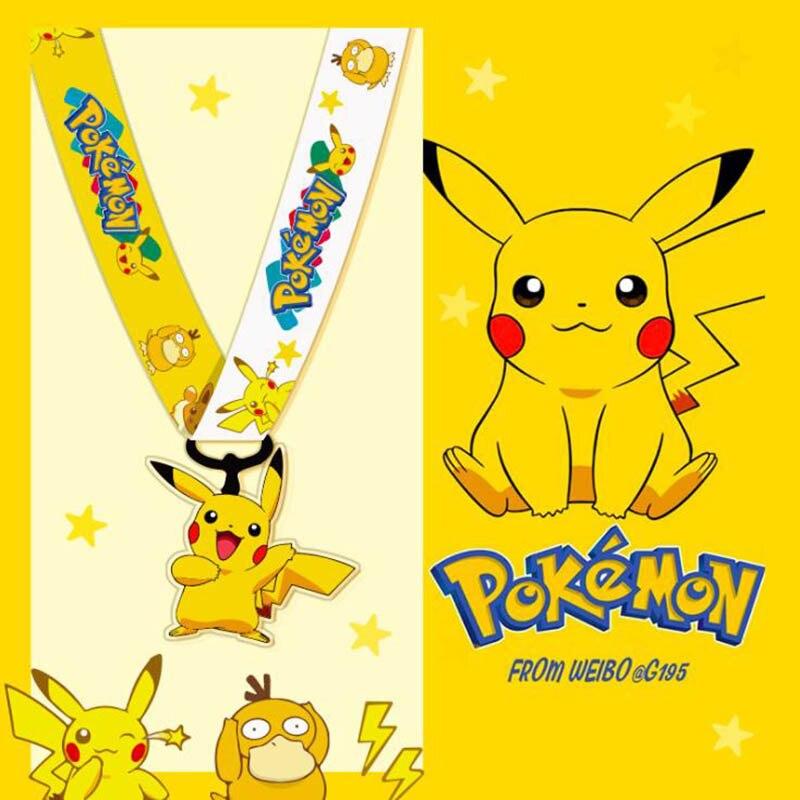 Cute Cartoon Anime Tag Lanyard Keychain Long Short Rope Mobile Phone Lanyard Hanging Neck Rope U Disk Key Ring ID Card Lanyard