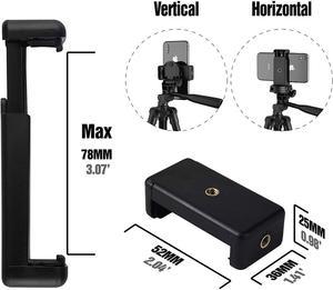 Image 5 - Trípode Selfie Stick para Selfie teléfono móvil fotografía y vídeo iluminación Base portátil soporte Smartphone trípode móvil