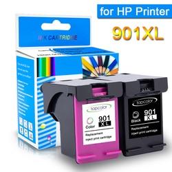 Topcolor 901 XL kompatybilny dla HP 901 pojemnik z tuszem hp 901 901XL dla HP Officejet 4500 J4525 J4580 J4585 J4624 J4660 JPrinter