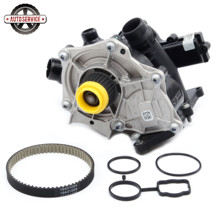 NEW 06L 121 111 F Electronic Water Pump Thermostat Assembly &Timing Belt Kit For VW Golf MK7 Passat B8 Audi A4 A5 A6 06K121605 03l965561a secondary coolant additional auxiliary water pump for audi a4 a5 a6 avant b8 v w amarok 03l965561a