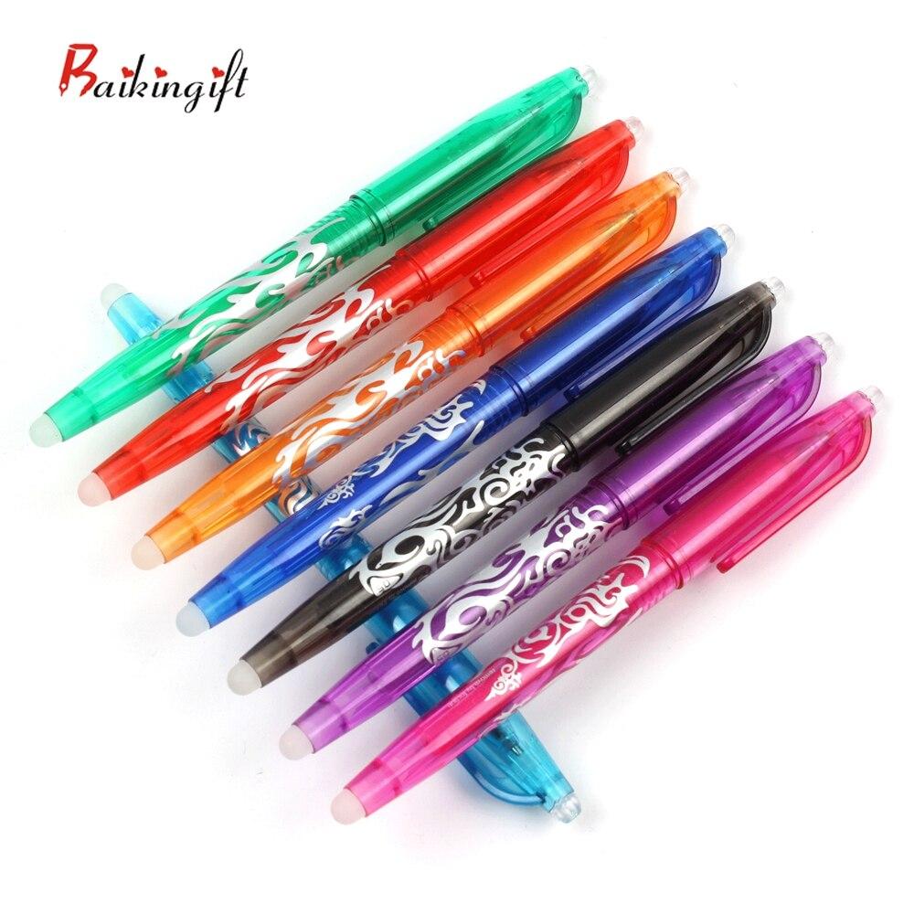 8/16PCS Löschbaren Stift 8 Farben Tinte Gel Stift Set Arten Regenbogen Neue Beste-verkauf Kreative Zeichnung schreibwaren Kugelschreiber Für Schule Büro