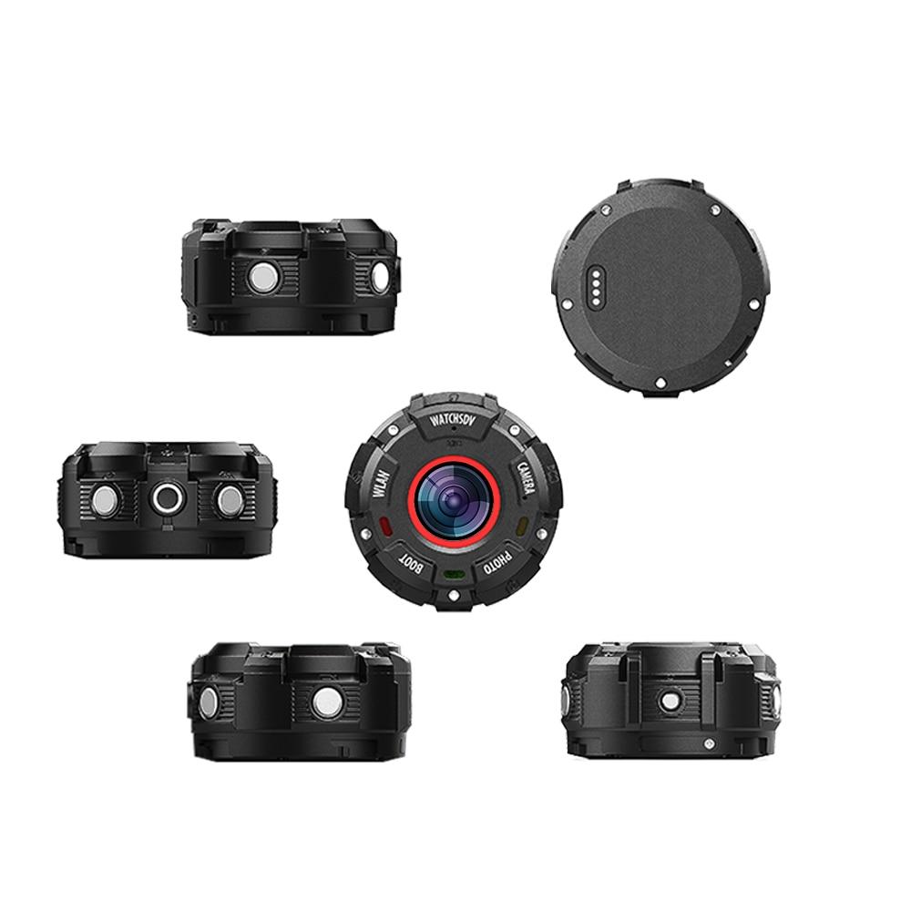 Sport Action Camera HD1080P WiFi Waterproof 30M DV  wide-angle lenses Night Version Shooting Smart Watch Camera